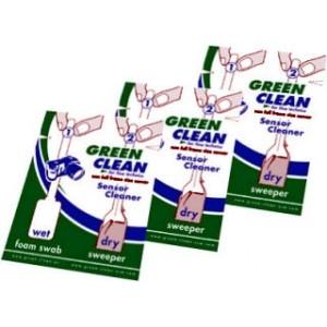 Green Clean, lot de 3 x2 bâtonnets pour capteur 24X36