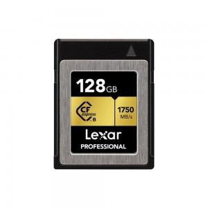 CARTE CFEXPRESS LEXAR 128GB PROFESSIONAL 1750/1000MB/S