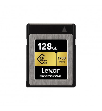 CARTE CFEXPRESS LEXAR 128GB PROFESSIONAL 1750/1000MB/S