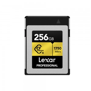 CARTE CFEXPRESS LEXAR 256GB PROFESSIONAL 1750/1000MB/S