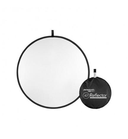 Réflecteur WESTCOTT pliant 100cm -Diffuseur 2-en-1 -Basics 40