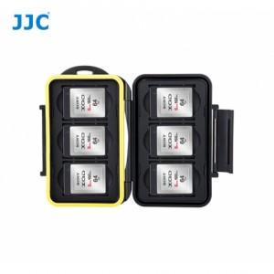 JJC Boite de rangement étanche cartes mémoire -pour 6 cartes XQD / CFExpress