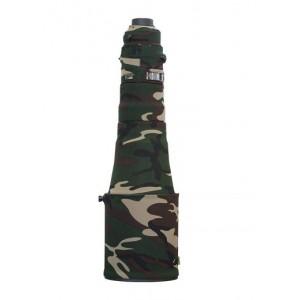 """Protection Néoprène """"camouflage"""" de Lenscoat pour AFS 600/4E FL."""