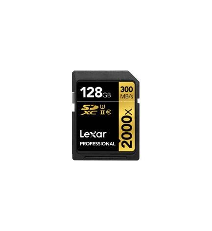Carte SD 32 GO LEXAR 2000x /// 300 mb/s
